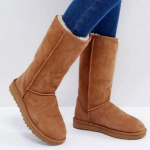 Ugg Classic Tall Chestnut Boots 7